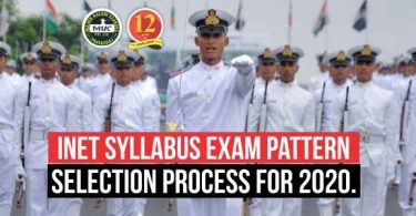 Navy INET Syllabus 2020, Exam Pattern, Selection process for 2020