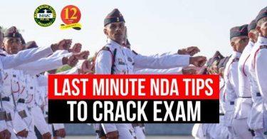 NDA Last Minute Tips to Crack, NDA 2 2019 Preparation Tips