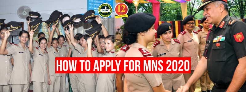 How to Apply for MNS 2020 (Military Nursing Service)