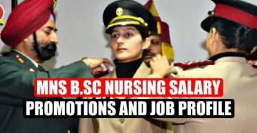 MNS Bsc Nursing Salary, Promotion and Job Profile