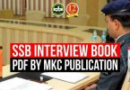 SSB Interview Book Pdf by MKC Publication