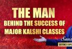 The Man Behind The Success of Major Kalshi Classes-Mr Saurabh Singh