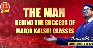 The Man Behind The Success of Major Kalshi Classes-Mr Saurabh Singh