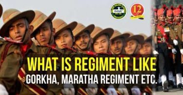 What is Regiment ? And types of Regiments in Indian Army
