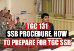TGC 131 SSB Procedure, How to Prepare for TGC SSB