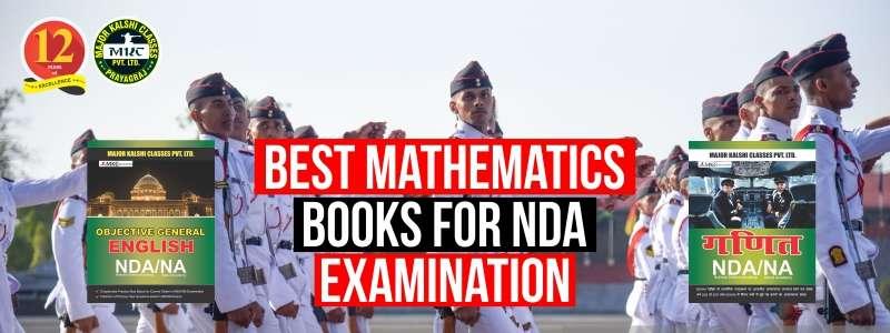 Best Mathematics Books for NDA Examination