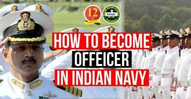 How to become Officer in Indian Navy