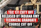 TGC 131 Cut off Released By Indian Army l Technical Graduate Course Cut off