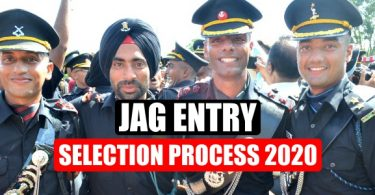 JAG Entry Selection Process 2020