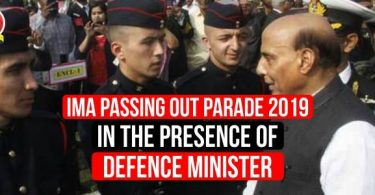 IMA Passing Out Parade 2019, in the presence of Defence Minister