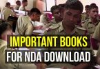 Important Books for NDA Pdf Download