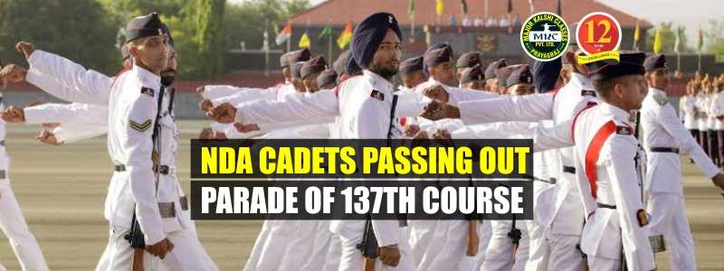 NDA Cadets Passing Out Parade 137th Course