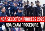NDA Selection Process 2020 and Exam Procedure