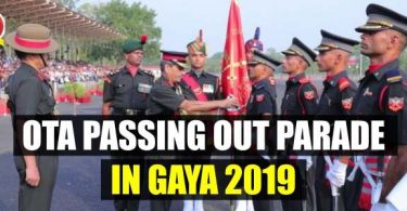 OTA Passing Out Parade in Gaya 2019