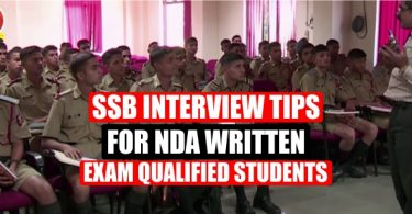 SSB Interview Tips for NDA Written Exam Qualified Students