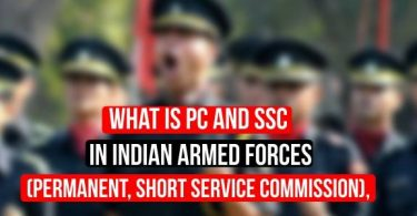What is PC and SSC in Permanent commission,Short Service Commission