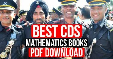 Best CDS Mathematics Books Pdf Download