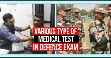 Various Types of Medical Tests in Defense Exams