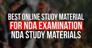 Best Online Study Material for NDA Examination, NDA Study Materials