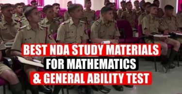 Best NDA Study Materials For Mathematics and General Ability Test