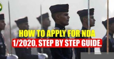 How to apply for NDA 1/2020, step by step guide