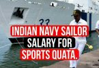 Indian Navy Sailor Salary for Sports Quota