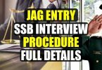 JAG Entry SSB Interview Procedure Full detail