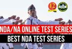 NDA/NA Online Test Series, Best NDA Test Series
