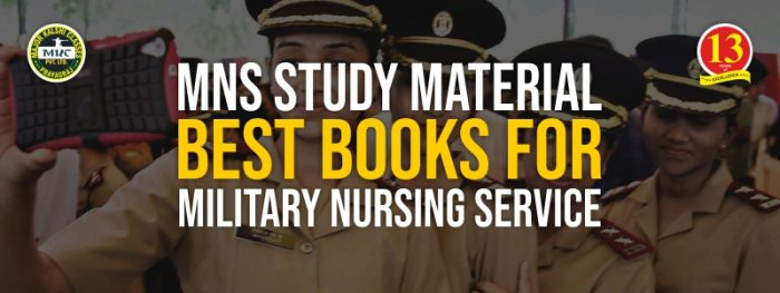 MNS Study Material: Best Book for Military Nursing Service