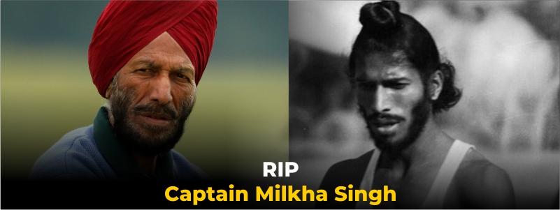 Milkha Singh Passed Away on Friday
